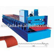 Machine de formage de rouleaux en zigzag 850