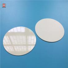 disco de bolacha de cerâmica de alumina de alto diâmetro e 100 polimentos