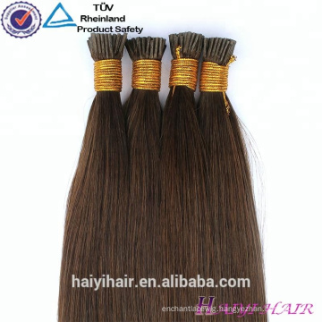 Unprocessed High Quality Virgin Brazilian Human Double Drawn I Tip Hair Extensions
