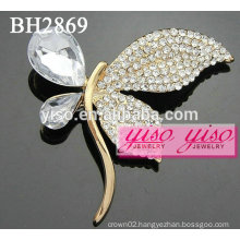 butterfly crystal fashion brooches