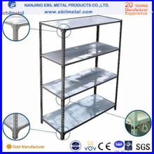 Q235 Steel Étagère à angle à fente rentable / étagère légère