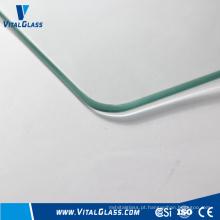 2-12mm Vidro Flutuante Claro / Vidro Laminado Temperado / Vidro E Baixo