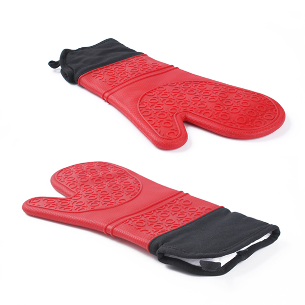 silicone glove oven mitts