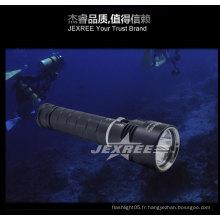Lampe de poche swat 100 m lampe de pétanque soulevée sous-marine