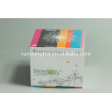 Coffret personnalisé boite cadeau boîte d'emballage boîtes à thé fleuries
