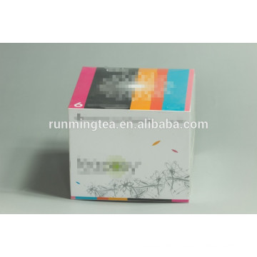 Kundengebundene Box Geschenkbox Verpackung Box blühende Tee-Boxen