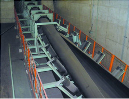 ep fabric pipe conveyor belt