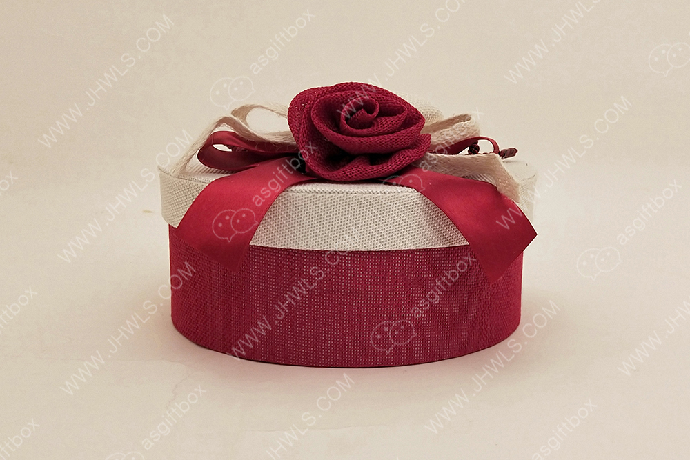 Red Valentine's Day Gift Box