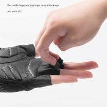 Fashion Style Rockbros Breathable Mountain Bike Mountain Bike Riding Gloves Half Finger Gloves