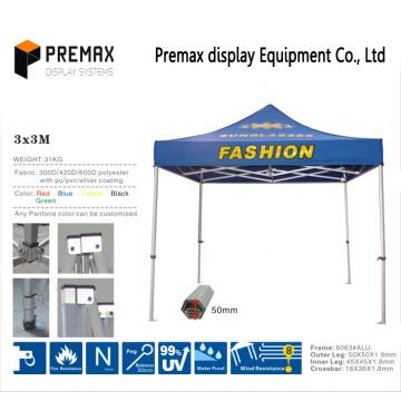 Полноцветная печать Наружная реклама Складная купольная шатерная площадка с тенями