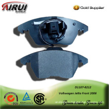 Semi-metallic car brake pad for Volkwagen Jetta Front 2006