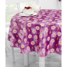 PVC Printed Tablecloth with Nonwoven Backing (TJ0280A)