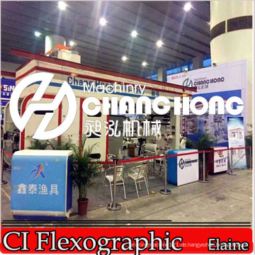 Flexo Ci Trommeldruckmaschinen Roll-to-Roll