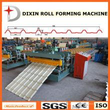 Máquina formadora de techo para paneles metálicos