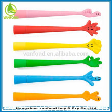 Custom made soft PVC magnetic pen for kids