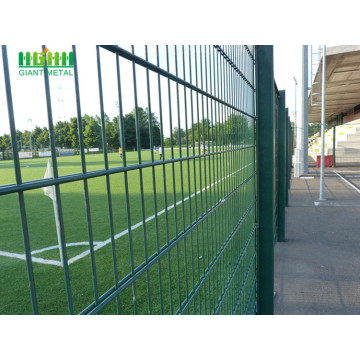 PVC+Coated+Twill+Weave+Double+Horizontal+Wire+Fence