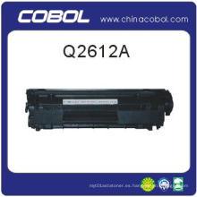 Cartucho de tóner compatible Q2612A para Hplaserjet