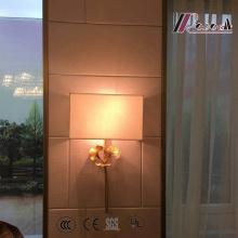 Lampe murale en mousseline de soie moderne