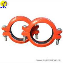 Ductile Iron Grooved Fitting Reducing Coupling