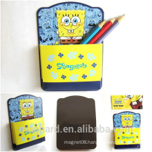 China supplier wholesale custom cartoon magnetic paper pocket for promotional gift