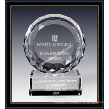 """Placas de Prémio de Cristal / Trust Award 5 """"H (NU-CW729)"""