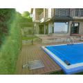 WPC floor/wood plastic composite decking like wood flooring/deck tiles
