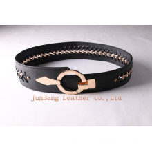 Wider Ladies Chain Fashionable PU Belts