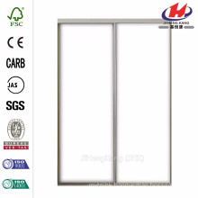 47 in. x 80.5 in. Aspen Steel Interior Sliding Door