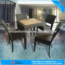 Обеденный набор мебели из ротанга