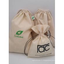 sacs d'emballage de sac de téléphone portable en coton