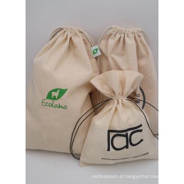 sacola de algodão para celular
