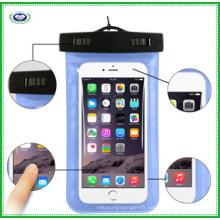 Sac de téléphone imperméable en PVC de haute qualité