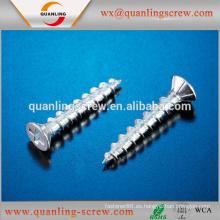 Venta por mayor productos china avellanada tornillo ventana cabeza oval