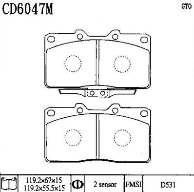 CD6047M