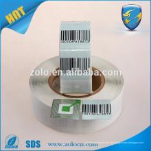 Kundenspezifische GPS-Tracking-Aufkleber EAS rf Barcode-Etikett