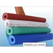 feuille flexible de PVC résistant au froid et lisse