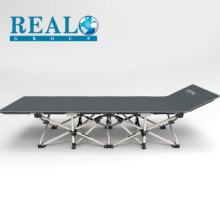 Lightweight Collapsible Single Portable Reinforce Metal Steel Frame Camping Cot Hide A Folding Bed