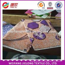 2017 novo design de tecido de cera de moda africano tecido de impressão de cera