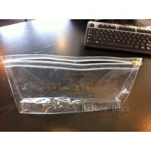 Non-Toxic ясный пластичный мешок PVC молнии (HBPV-59)