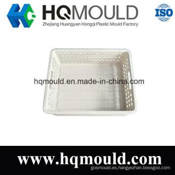 De Buena Calidad Molde plástico de la cesta de la herramienta de la inyección del cajón