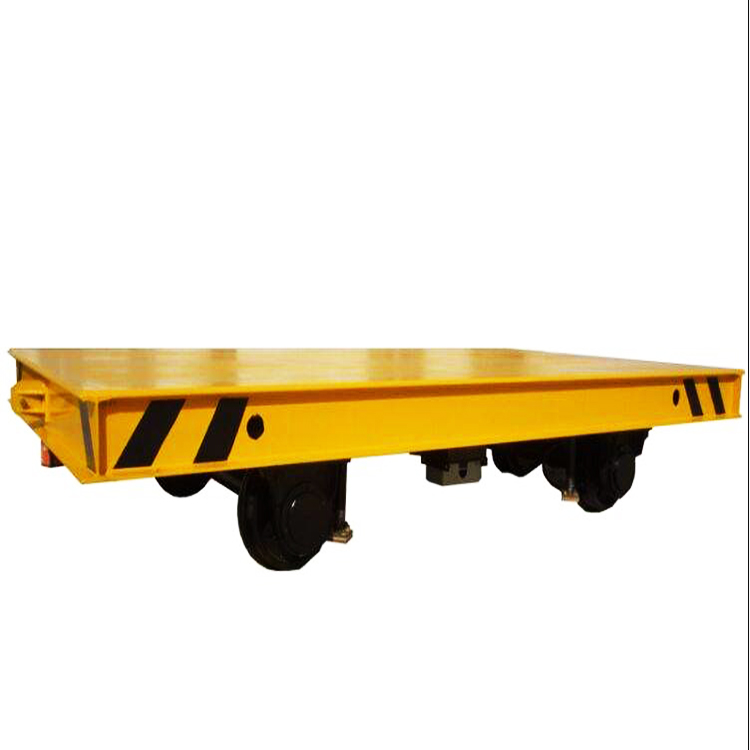 electric Rail Flat Car