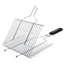 Runde BBQ Mesh / Square Barbecue BBQ Wire Grill / Rectangle BBQ Kochen Wire Net