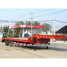 2-axis lowbed trailer,lowbed semi trailer