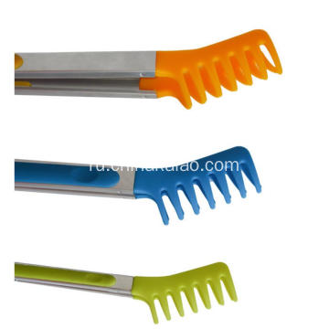 Barbecue BBQ Tong Stainless Steel Silicone Turner