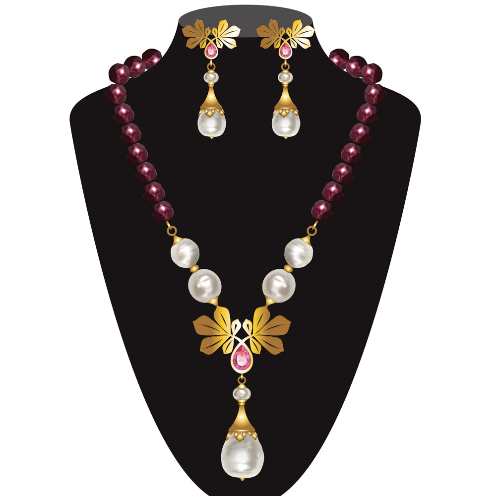 Luxury Pearl Jewellery Set