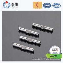 China OEM fábrica de vendas personalizado bom Pin Knurled