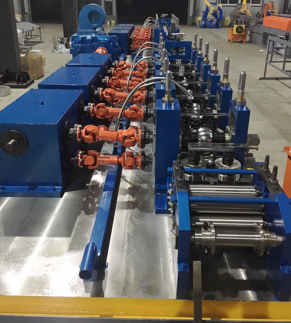 Welded Steel Pipe Machine