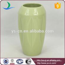 Decoración de vaso de cerámica de la forma de botella vintage hecho en china