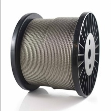 304 and 316 stainless steel wire rope 7x7