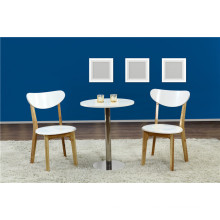 Foshan Factory Modern Cafe Table Set with Chairs (FOH-BCA40)